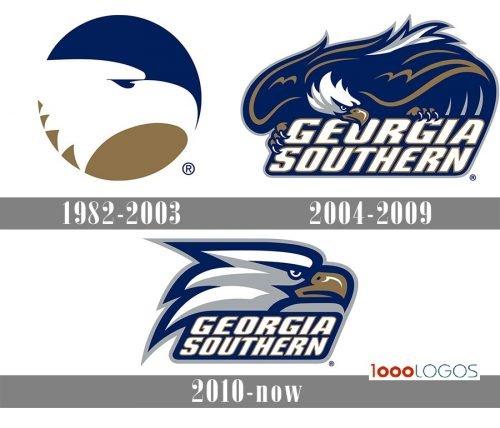 Georgia Southern Eagles logo history