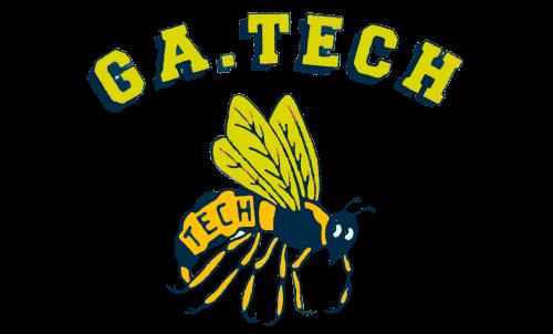 Georgia Tech Yellow Jackets Logo-1969