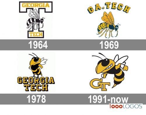 Georgia Tech Yellow Jackets logo history