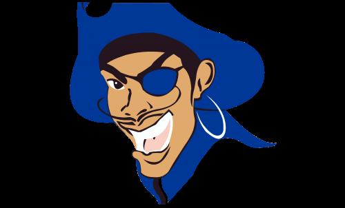 Hampton Pirates Logo-1997