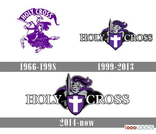 Holy Cross Crusaders Logo history