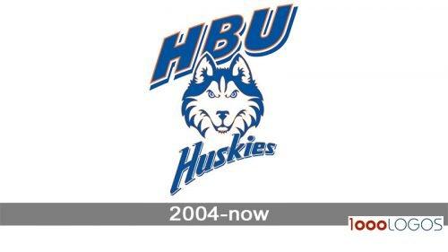 Houston Baptist Huskies Logo history