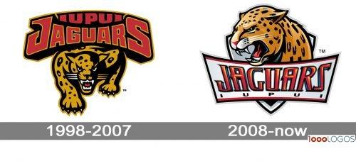 IUPUI JaguarsLogo history