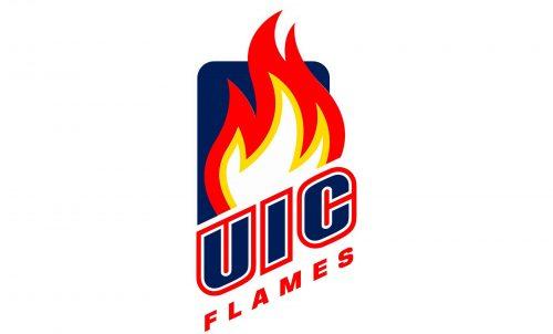 Illinois-Chicago Flames Logo