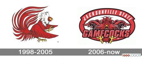 Jacksonville State Gamecocks Logo history