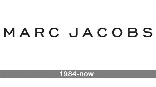 Marc Jacobs logo history