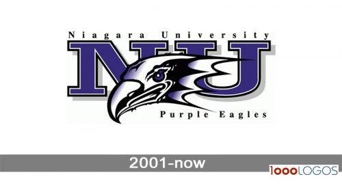 Niagara Purple Eagles logo history