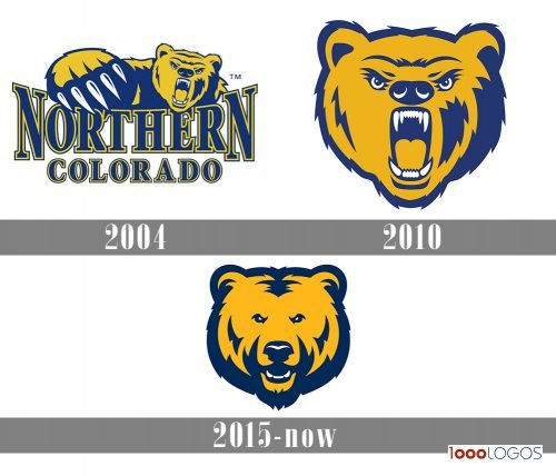 Northern Colorado Bears Logo history