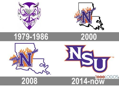 Northwestern State Demons Logo history