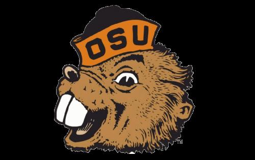 Oregon State Beavers Logo-1973