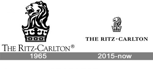 Ritz-Carlton Logo history