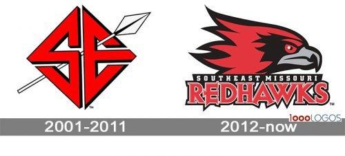 SE Missouri State Redhawks Logo history