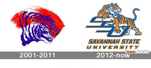 Savannah State Tigers Logo history