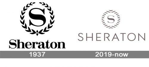 Sheraton Logo history