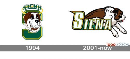 Siena Saints Logo history