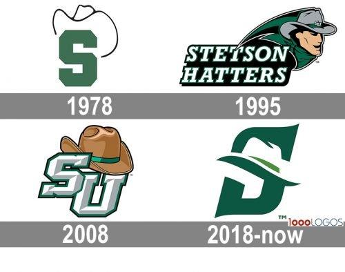 Stetson Hatters Logo history