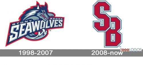 Stony Brook Seawolves Logo history
