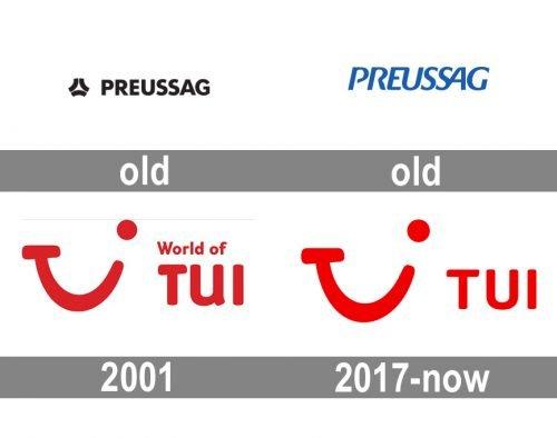 TUI logo history