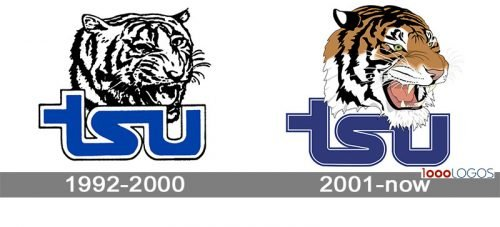 Tennessee State Tigers Logo history