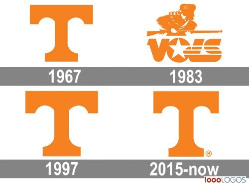 Tennessee Volunteers Logo history