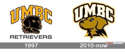 UMBC Retrievers Logo history
