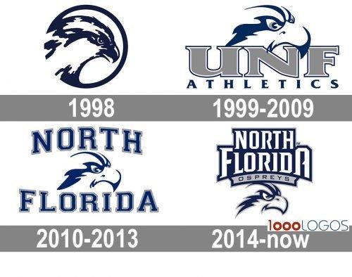 UNF Ospreys Logo history