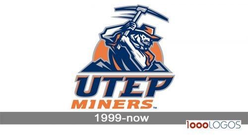 UTEP Miners Logo history