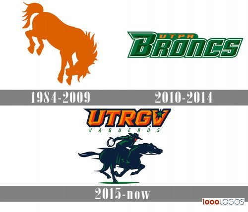 UTRGV Vaqueros Logo history