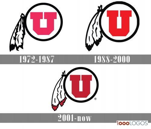 Utah Utes Logo history