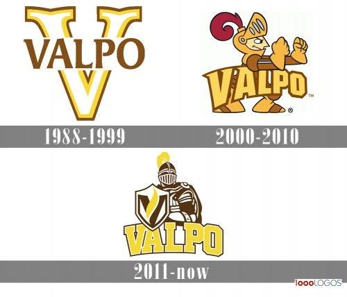 Valparaiso Crusaders Logo history