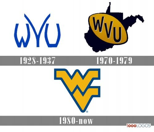 West Virginia Mountaineers Logo history