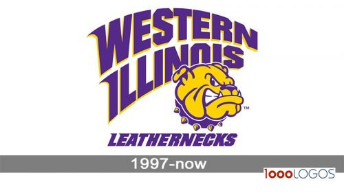 Western Illinois Leathernecks Logo history