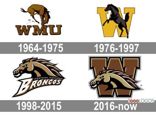 Western Michigan Broncos Logo history
