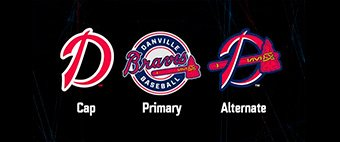 Danville Braves roll out three new logos