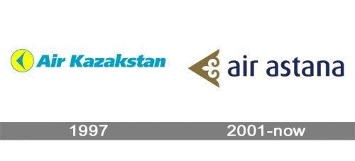 Air Astana Logo history