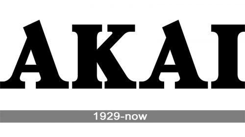 Akai Logo history