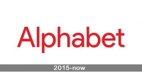 Alphabet Logo history