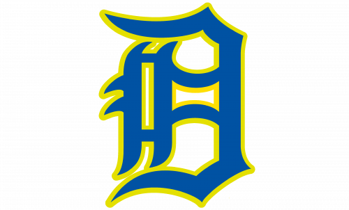 Delaware Blue Hens Logo-1955