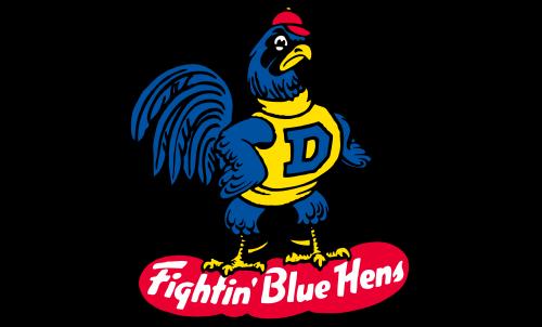 Delaware Blue Hens Logo-1967