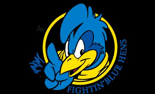 Delaware Blue Hens Logo-1999