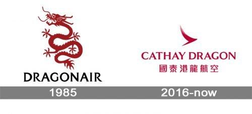 Dragonair Cathay Dragon Logo history