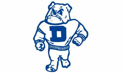 Drake Bulldogs Logo-1956