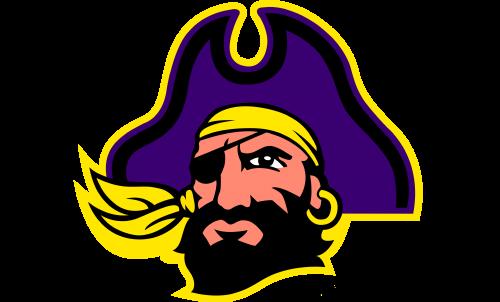 East Carolina Pirates Logo-2004