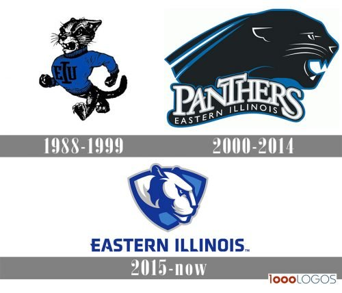 Eastern Illinois Panthers logo history