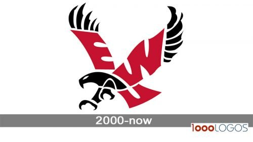 Eastern Washington Eagles logo history