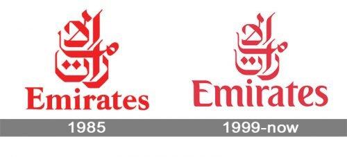 Emirates Logo history