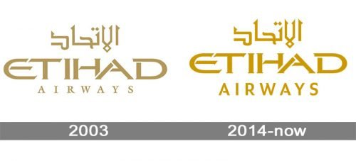 Etihad Airways Logo history