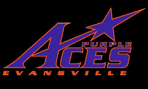 Evansville Purple Aces Logo-2001