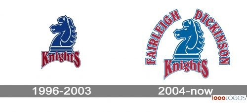 Fairleigh Dickinson Knights logo history
