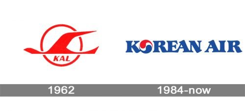 Korean Air Logo history